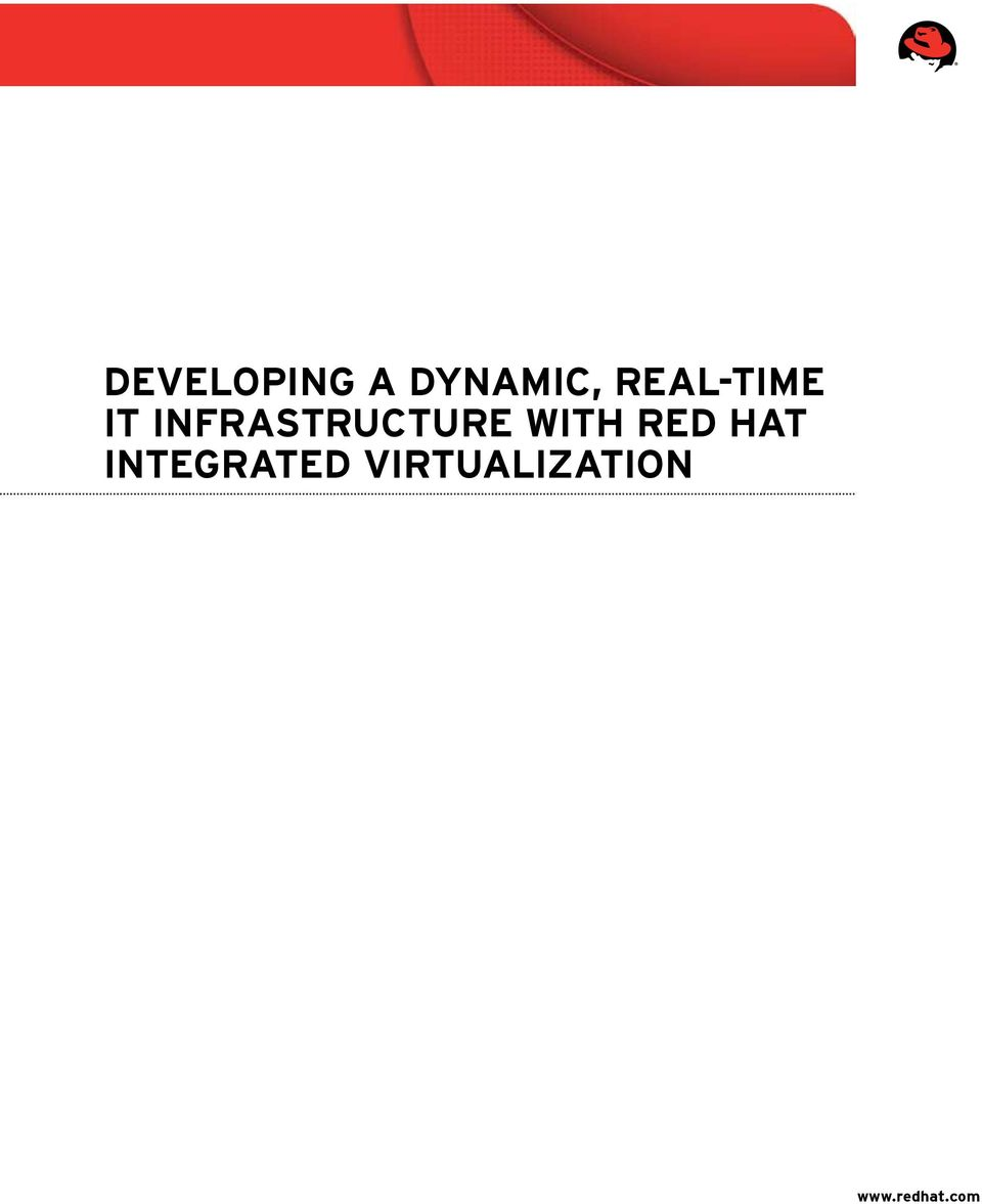 infrastructure with Red