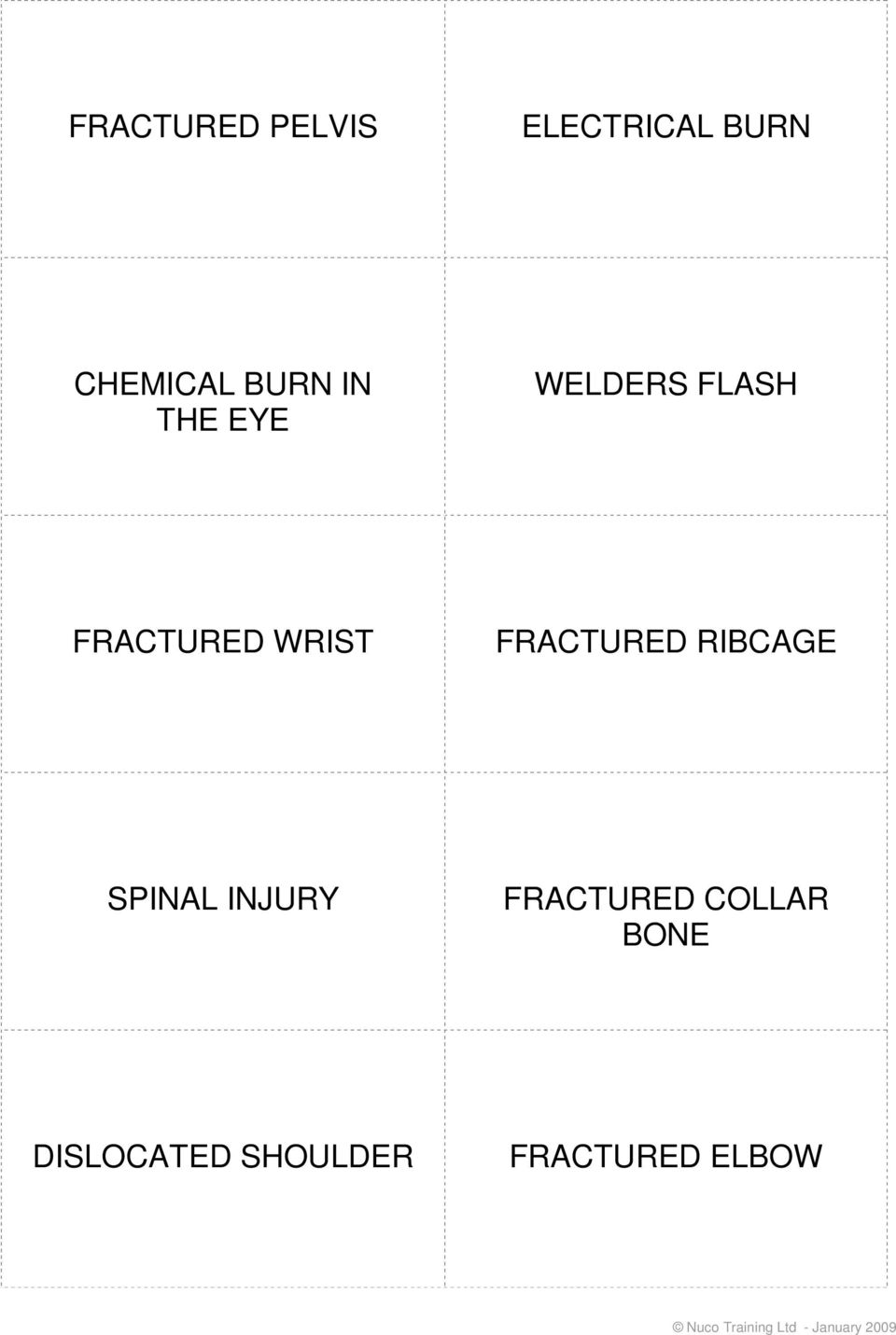 WRIST FRACTURED RIBCAGE SPINAL INJURY