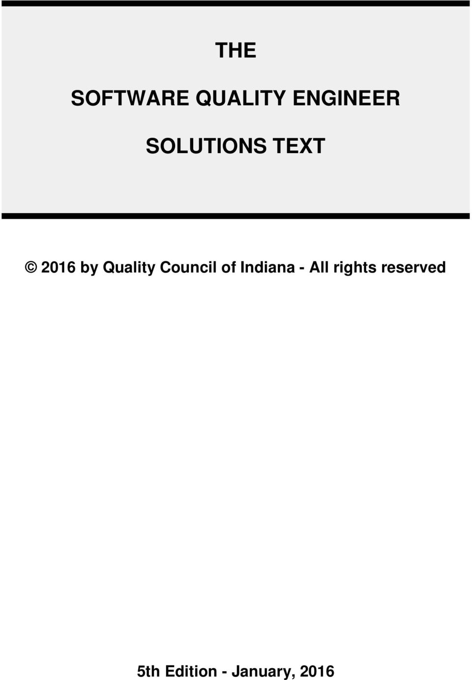 Council of Indiana - All rights
