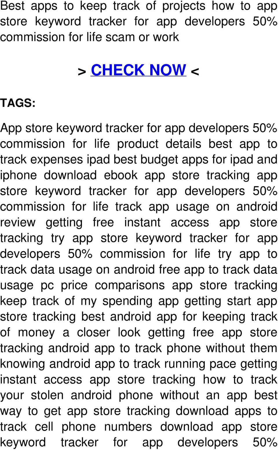 for life track app usage on android review getting free instant access app store tracking try app store keyword tracker for app developers 50% commission for life try app to track data usage on