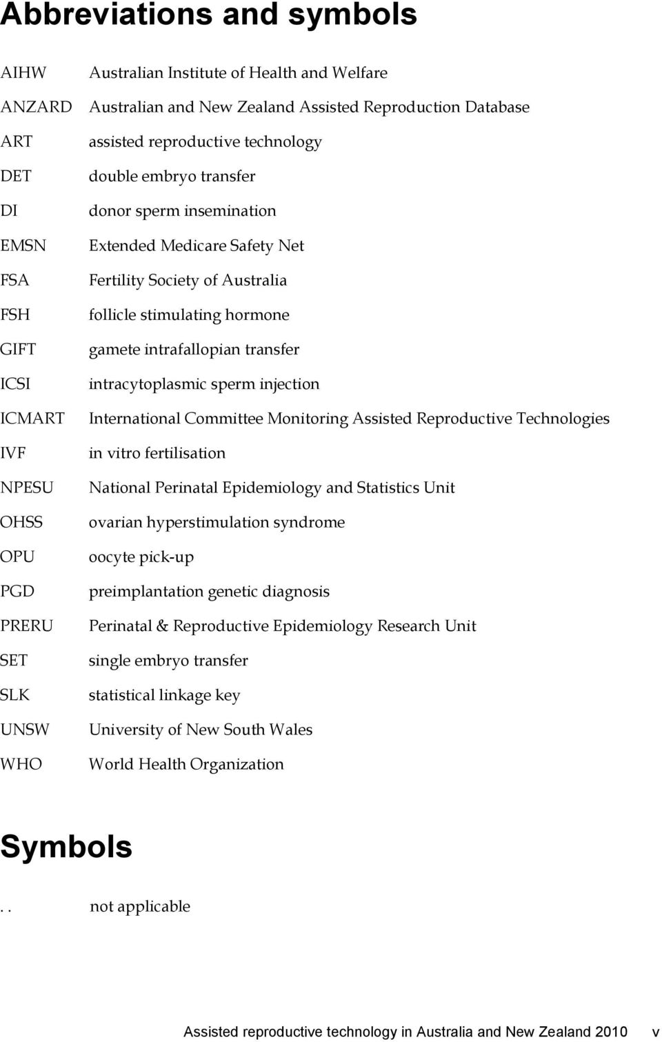 hormone gamete intrafallopian transfer intracytoplasmic sperm injection International Committee Monitoring Assisted Reproductive Technologies in vitro fertilisation National Perinatal Epidemiology