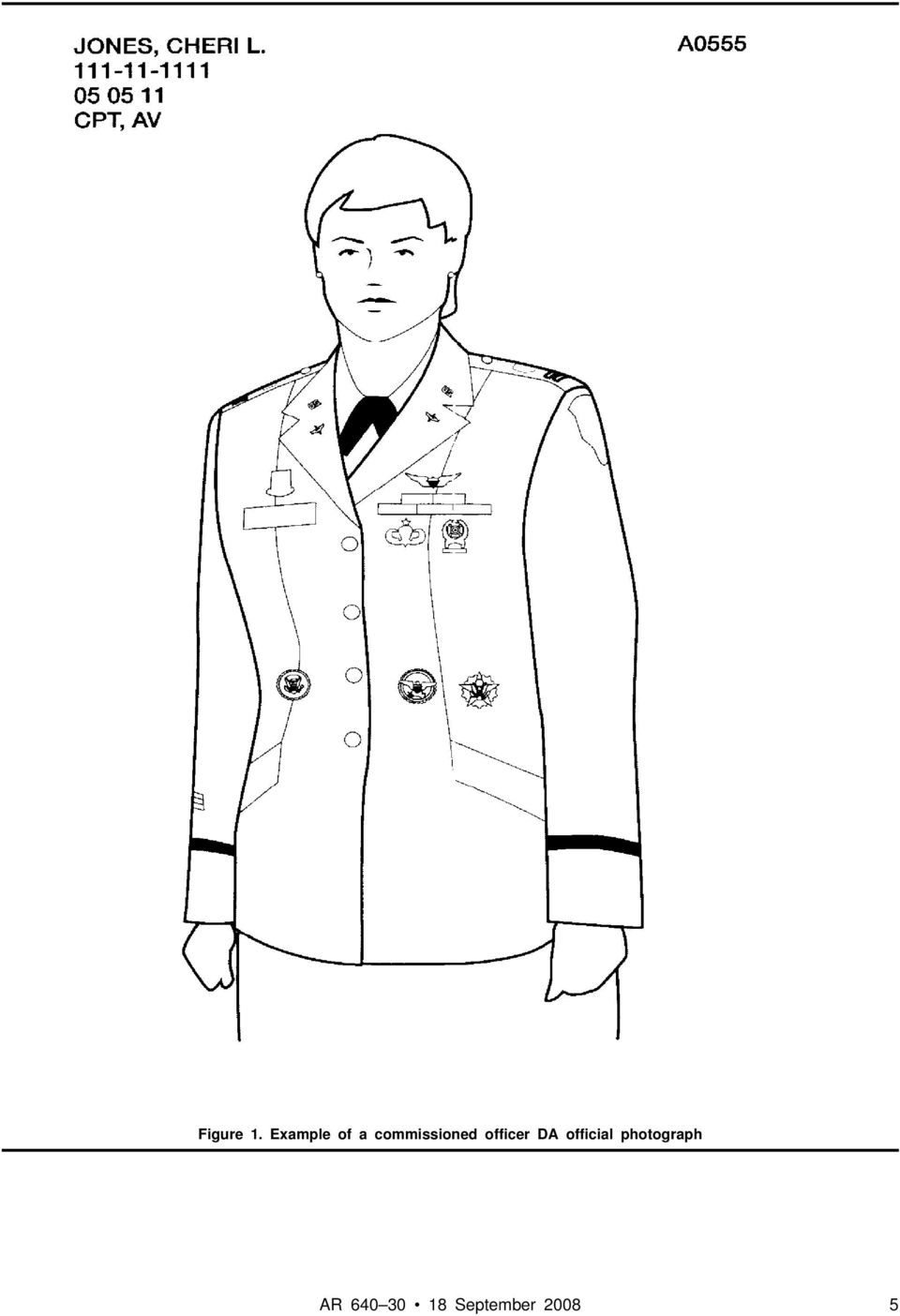 commissioned officer DA