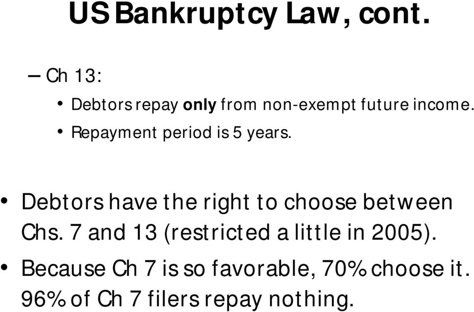 Repayment period is 5 years.
