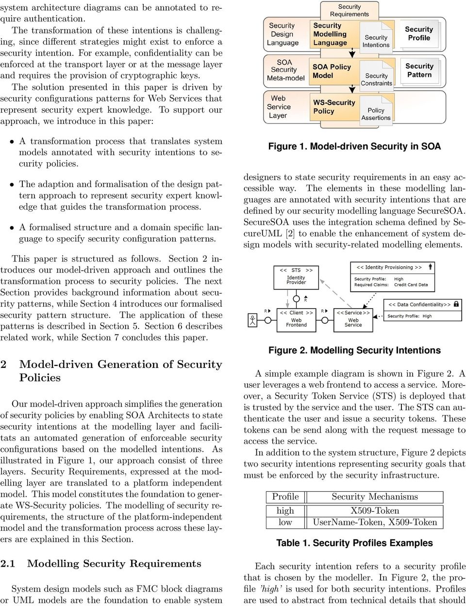 The solution presented in this paper is driven by security configurations patterns for Web Services that represent security expert knowledge.