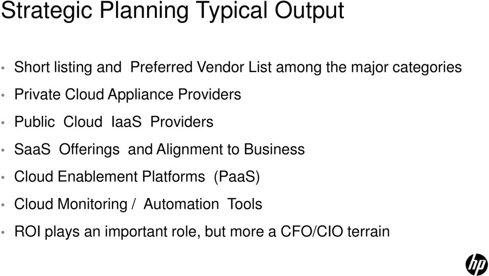 SaaS Offerings and Alignment to Business Cloud Enablement Platforms (PaaS) Cloud