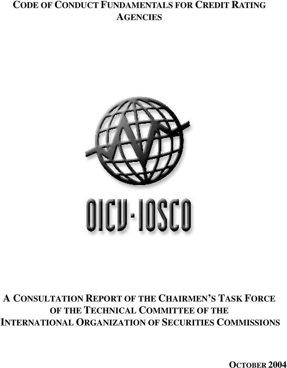 TASK FORCE OF THE TECHNICAL COMMITTEE OF THE