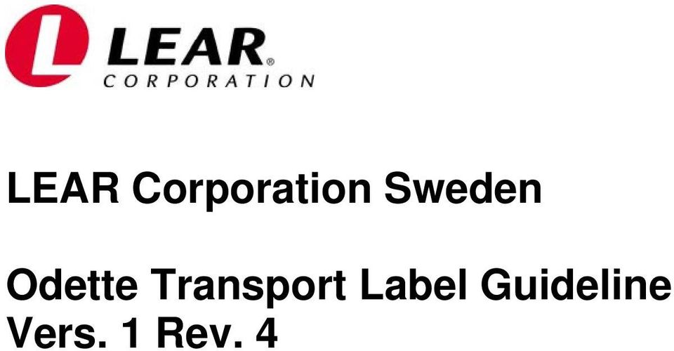 Transport Label