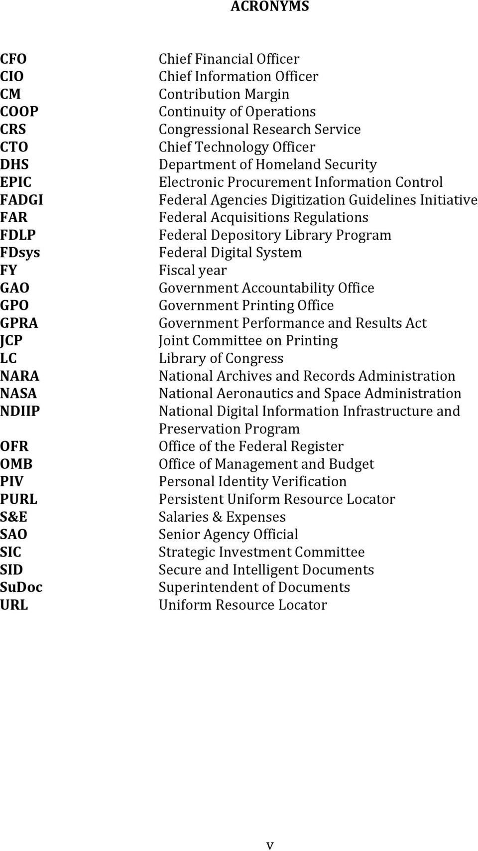 Digitization Guidelines Initiative Federal Acquisitions Regulations Federal Depository Library Program Federal Digital System Fiscal year Government Accountability Office Government Printing Office