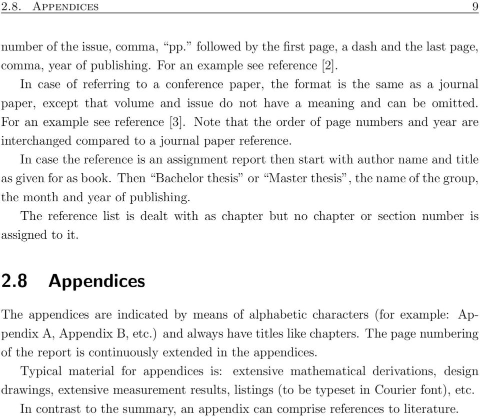 Note that the order of page numbers and year are interchanged compared to a journal paper reference.