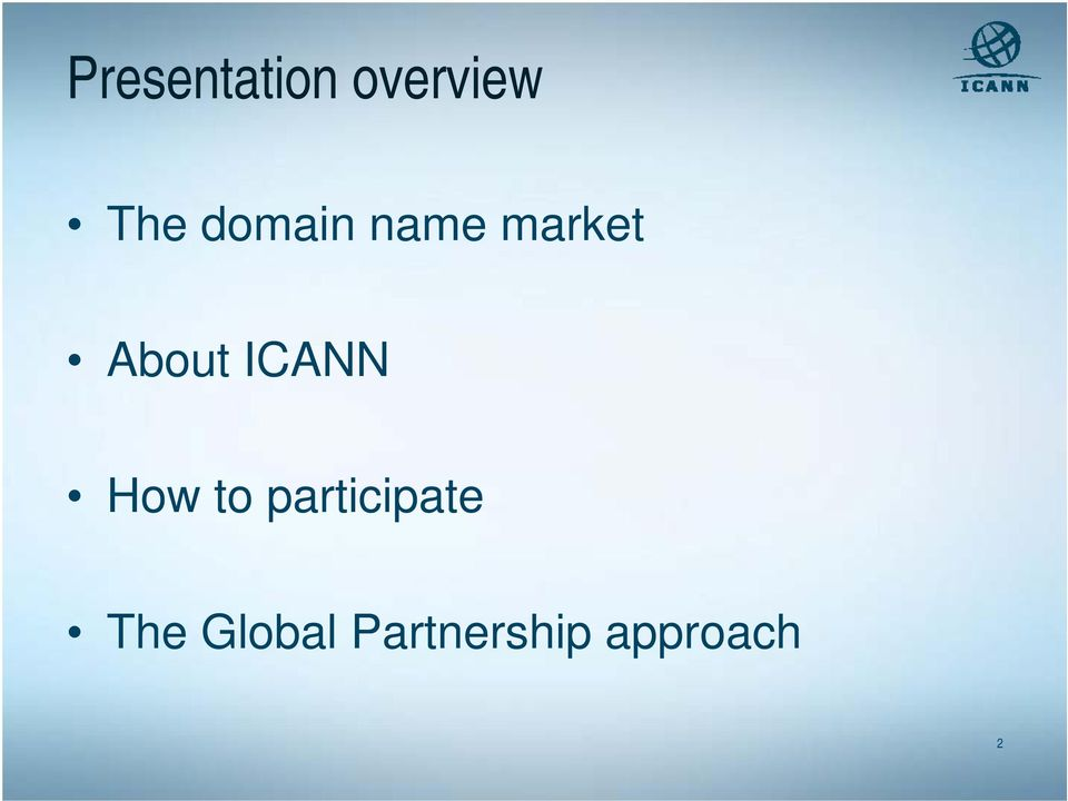 ICANN How to participate