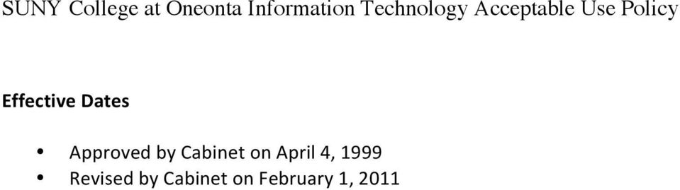 April 4, 1999 Revised