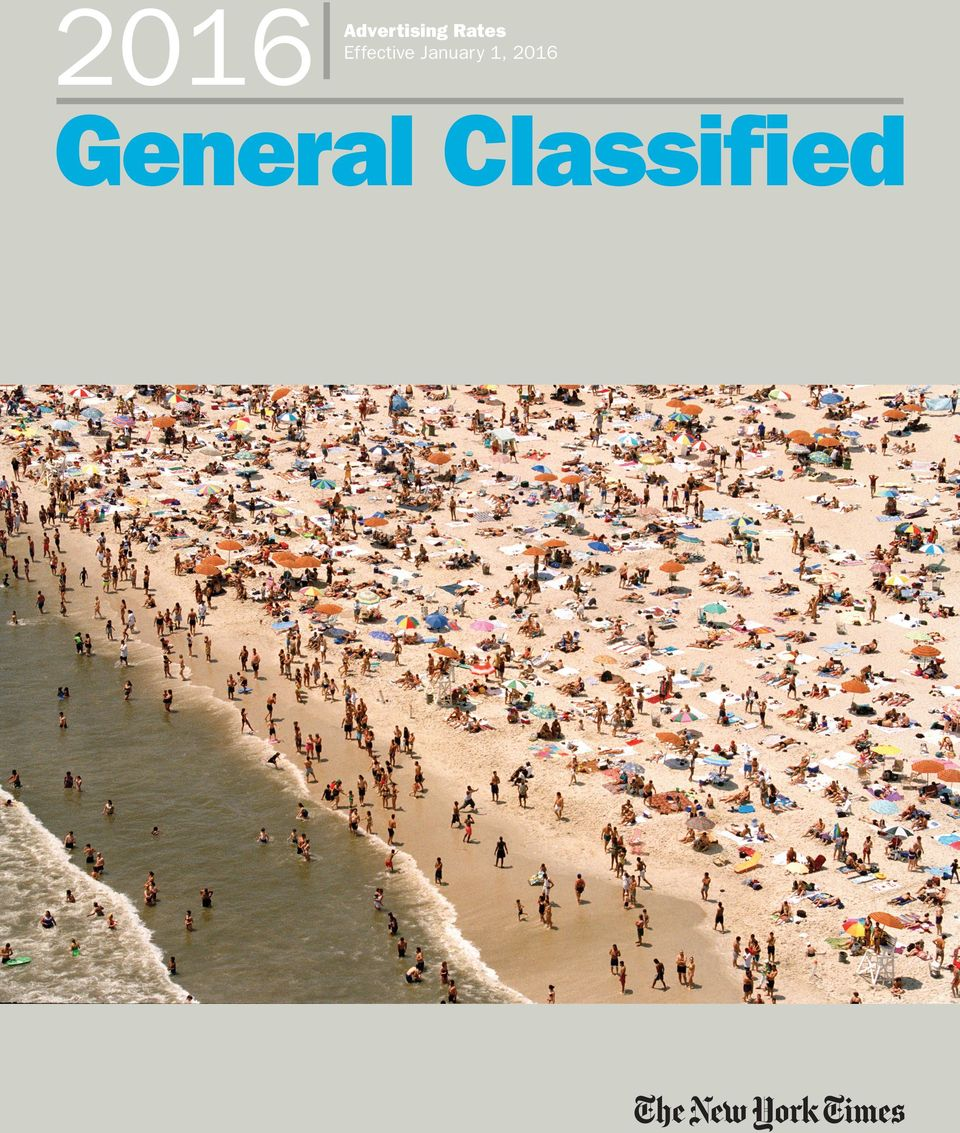 2016 General Classified