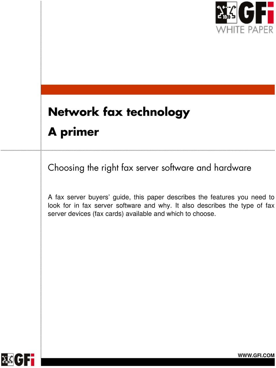 features you need to look for in fax server software and why.