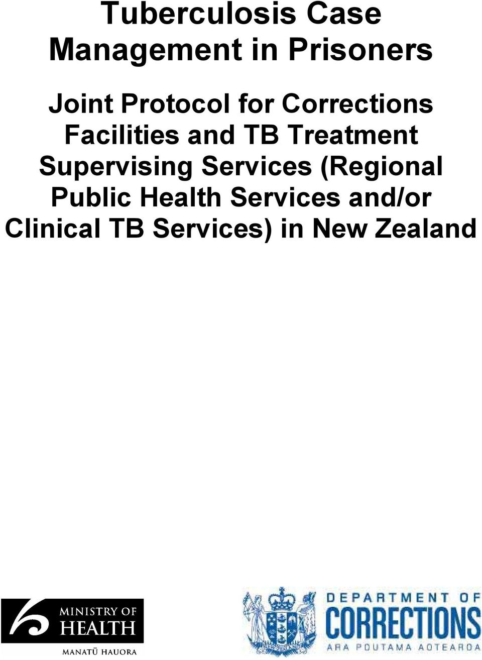Treatment Supervising Services (Regional Public