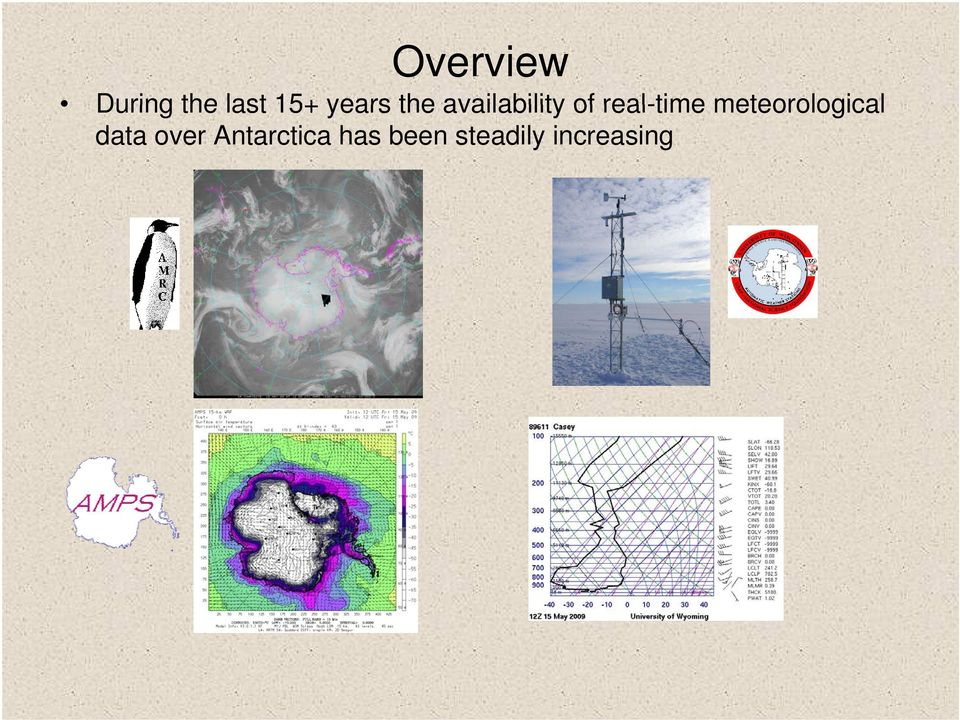 real-time meteorological data
