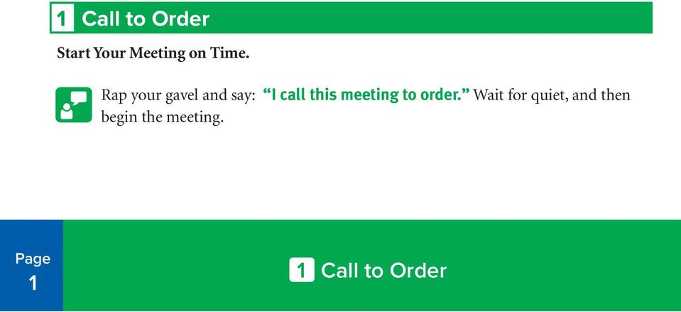 this meeting to order.