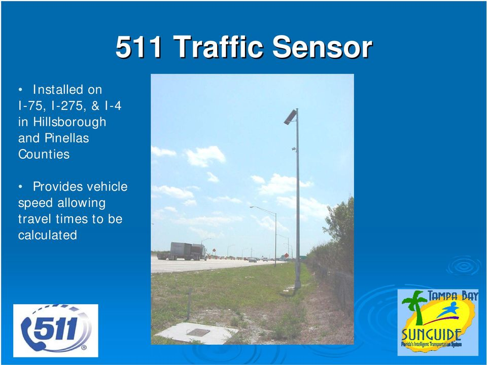 Pinellas Counties Provides vehicle