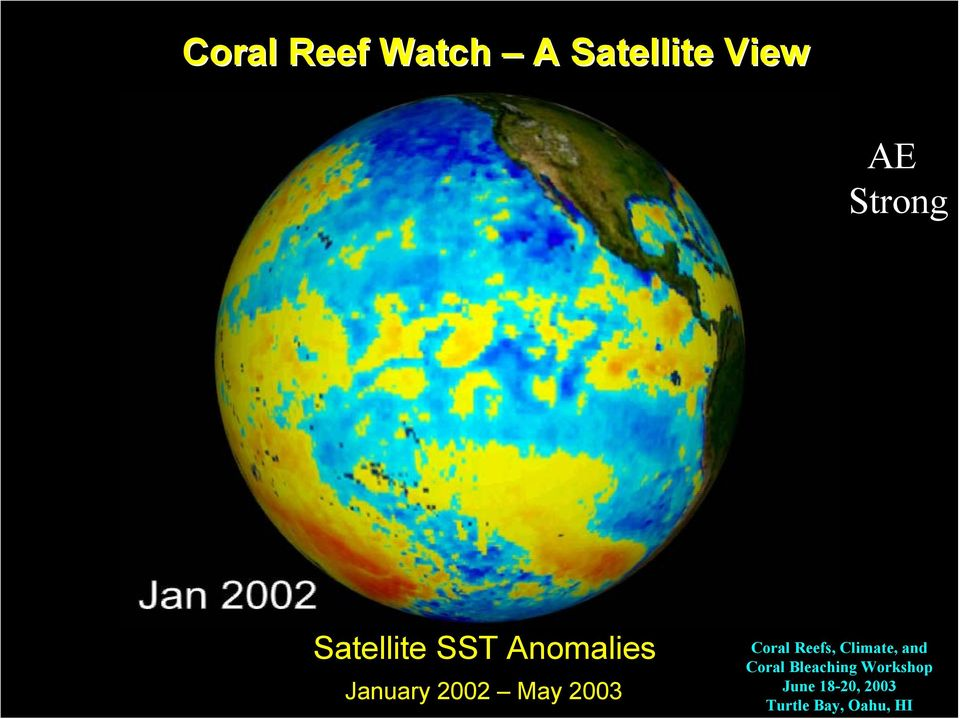 2003 Coral Reefs, Climate, and Coral