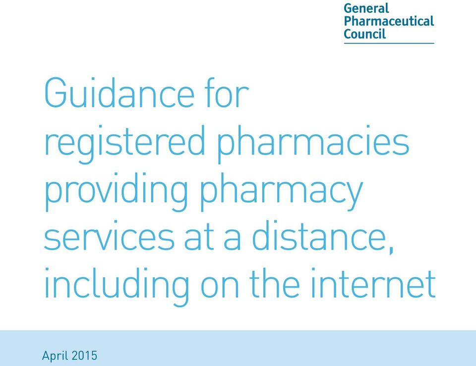 pharmacy services at a
