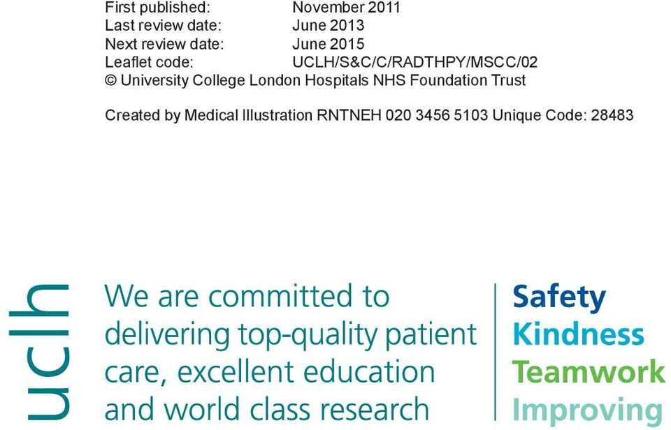 University College London Hospitals NHS Foundation Trust