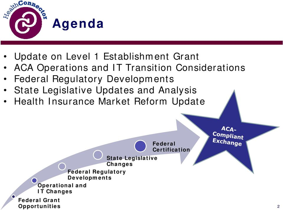 Analysis Health Insurance Market Reform Update Federal Certification State