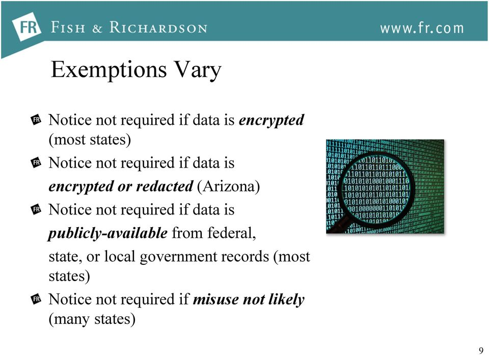 required if data is publicly-available from federal, state, or local