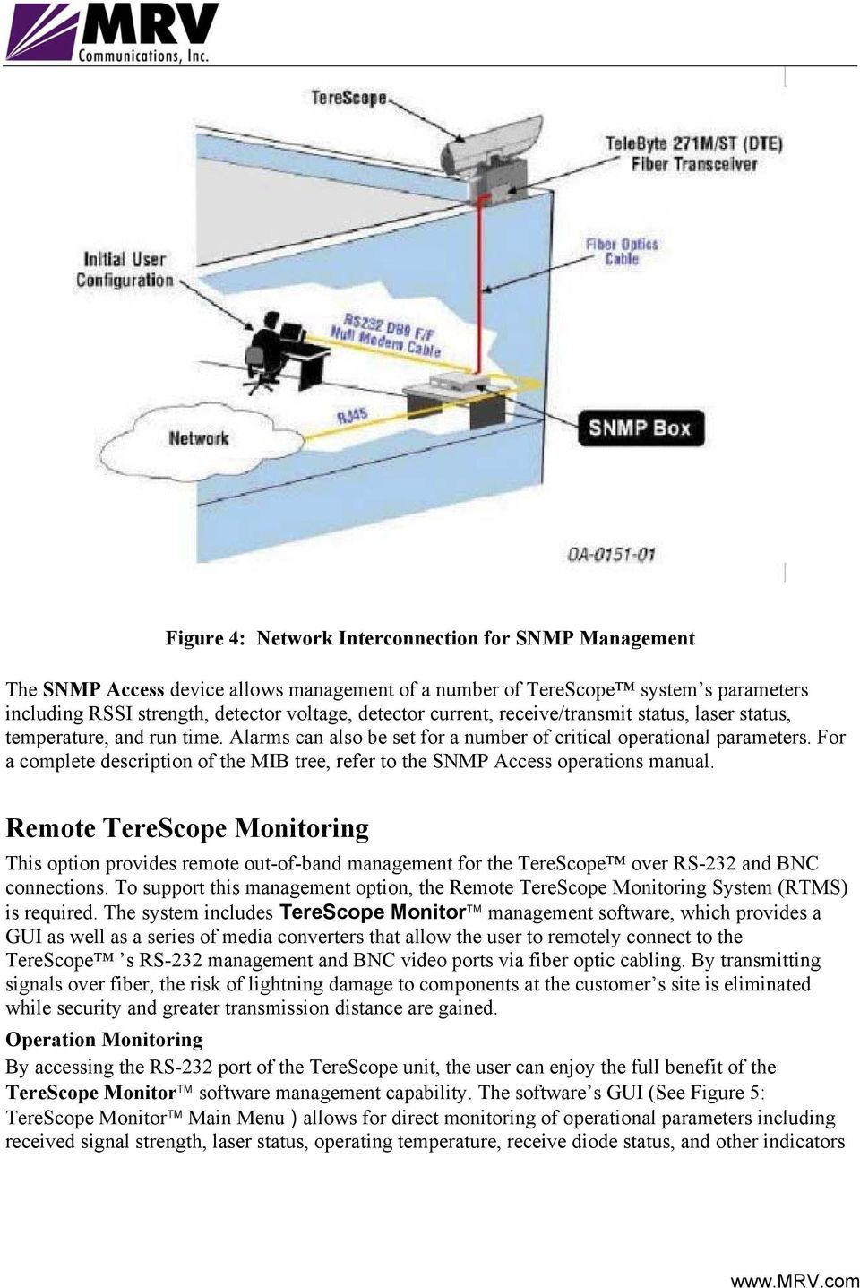 For a complete description of the MIB tree, refer to the SNMP Access operations manual.