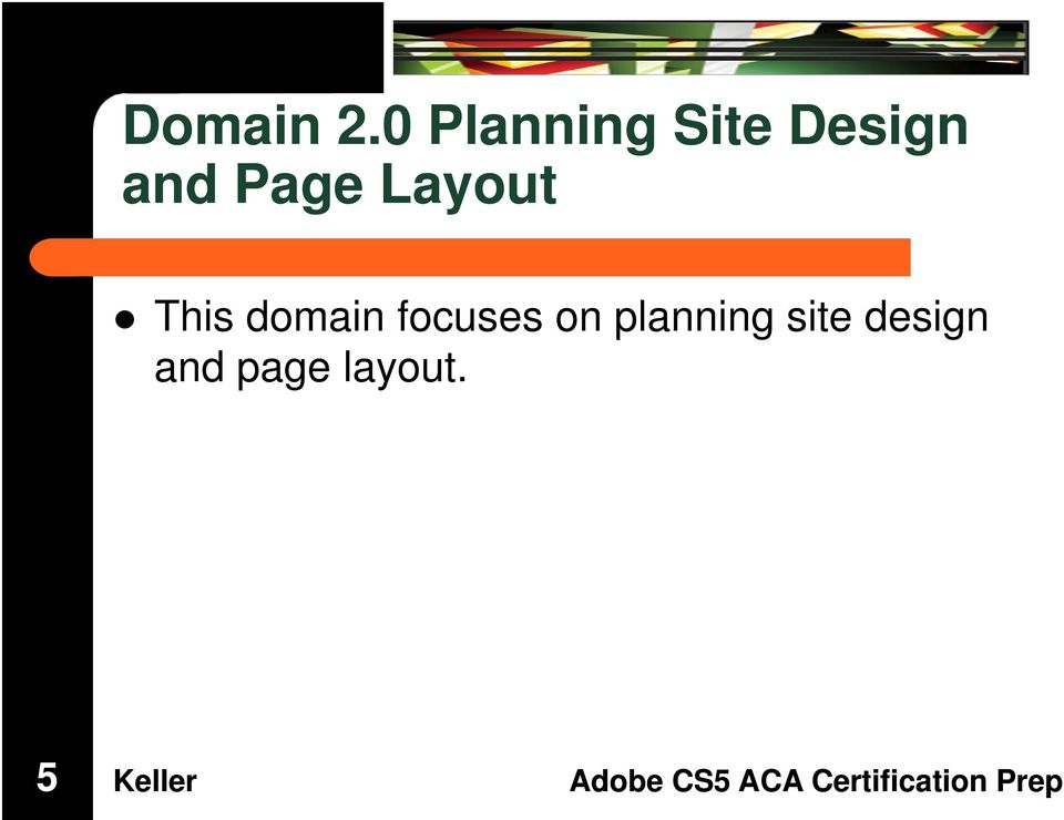 Page Layout This domain