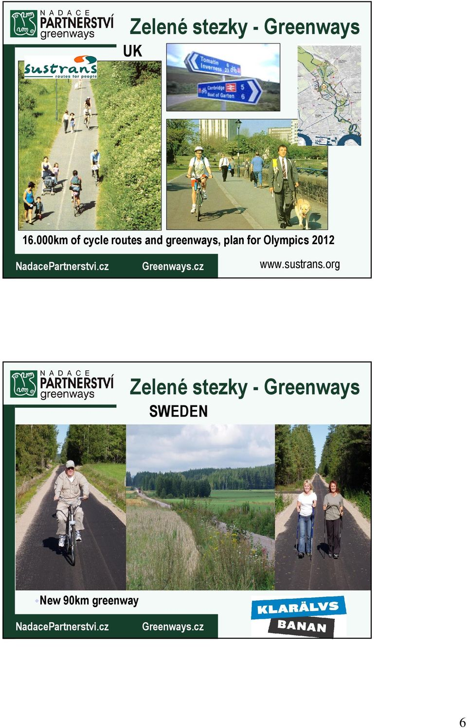 greenways, plan for