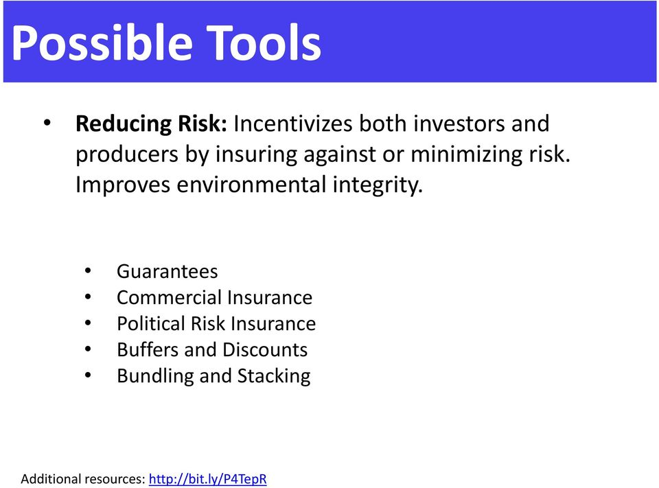 Guarantees Commercial Insurance Political Risk Insurance Buffers and