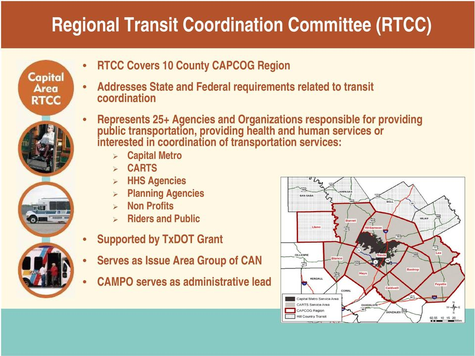 providing health and human services or interested in coordination of transportation services: Capital Metro CARTS HHS Agencies