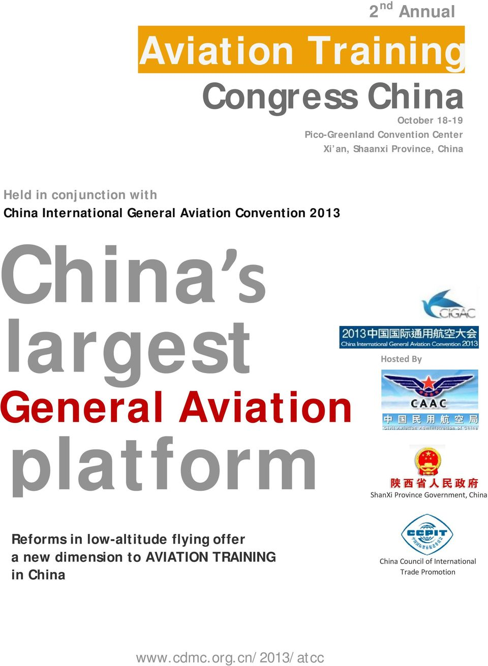 General Aviation platform Hosted By ShanXi Province Government, China Reforms in low-altitude flying offer a