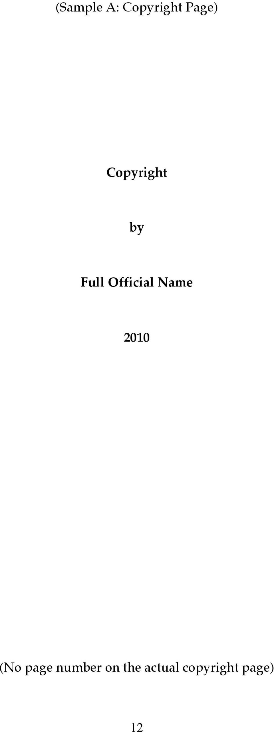 Name 2010 (No page number