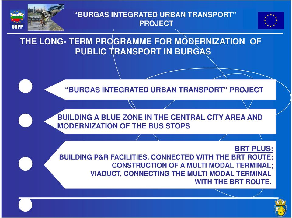 MODERNIZATION OF THE BUS STOPS BRT PLUS: BUILDING P&R FACILITIES, CONNECTED WITH THE BRT ROUTE;