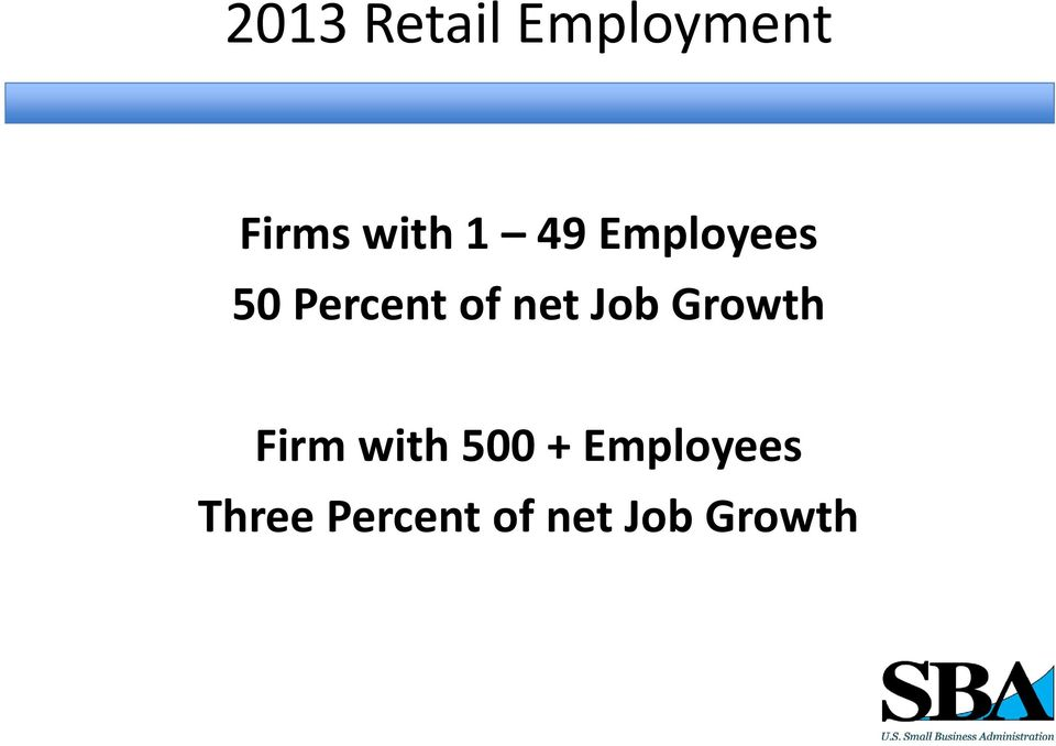 Job Growth Firm with 500 +