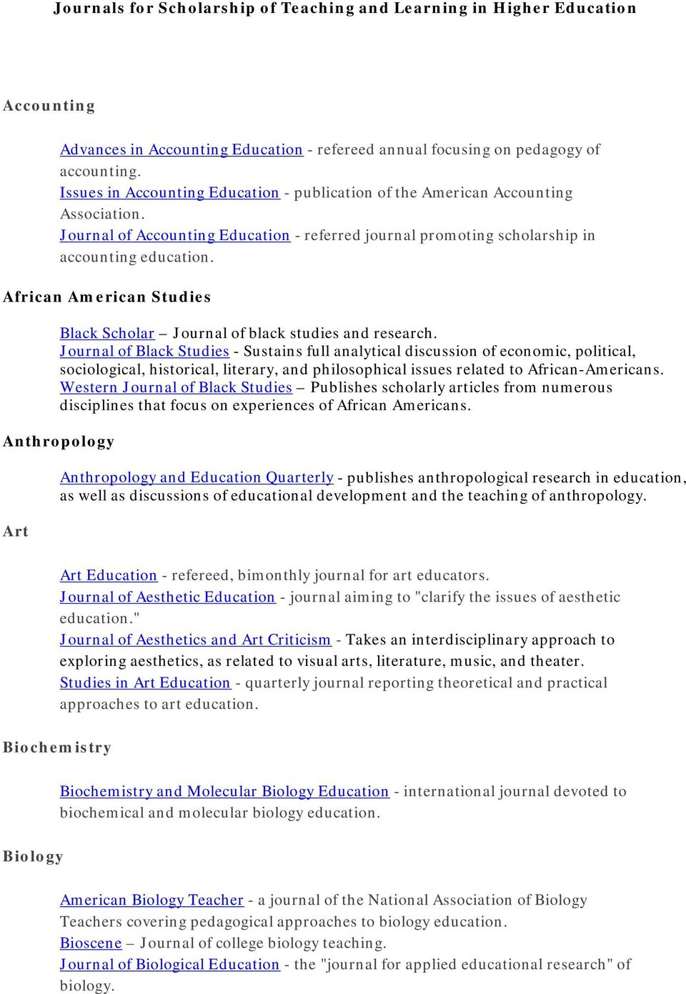 African American Studies Black Scholar Journal of black studies and research.