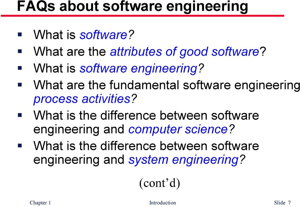 What is the difference between software engineering and computer science?