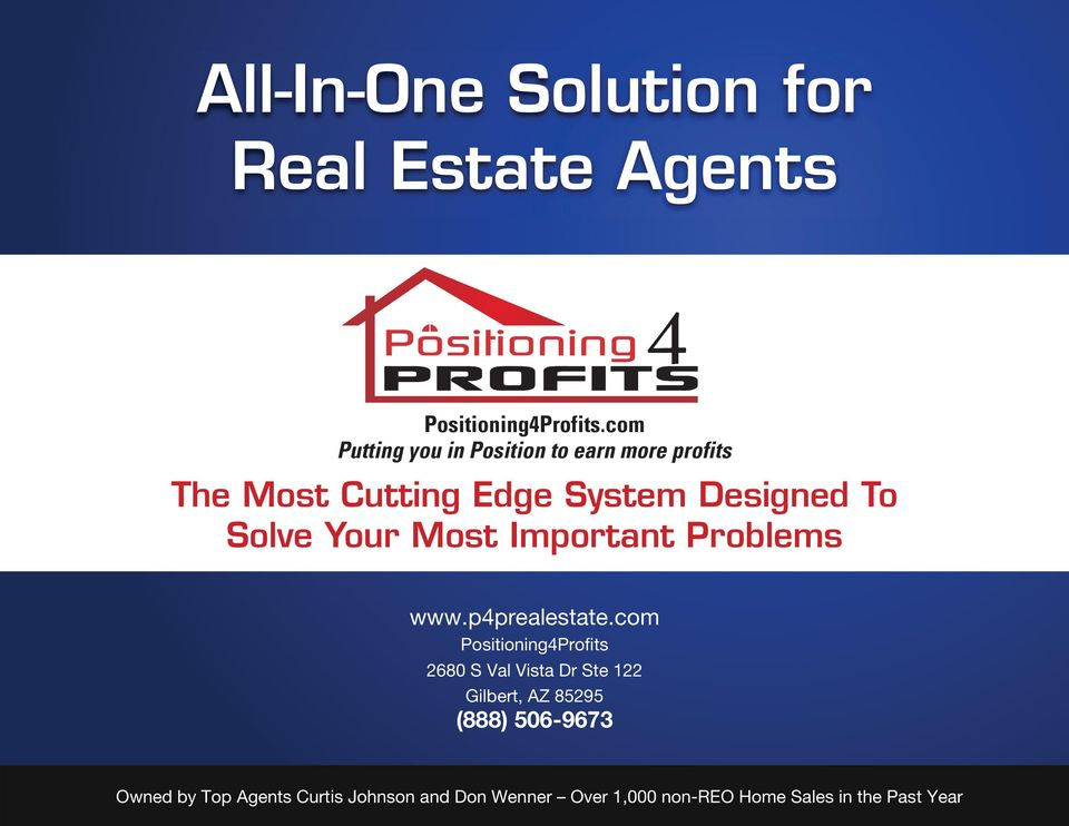 Your Most Important Problems www.p4prealestate.