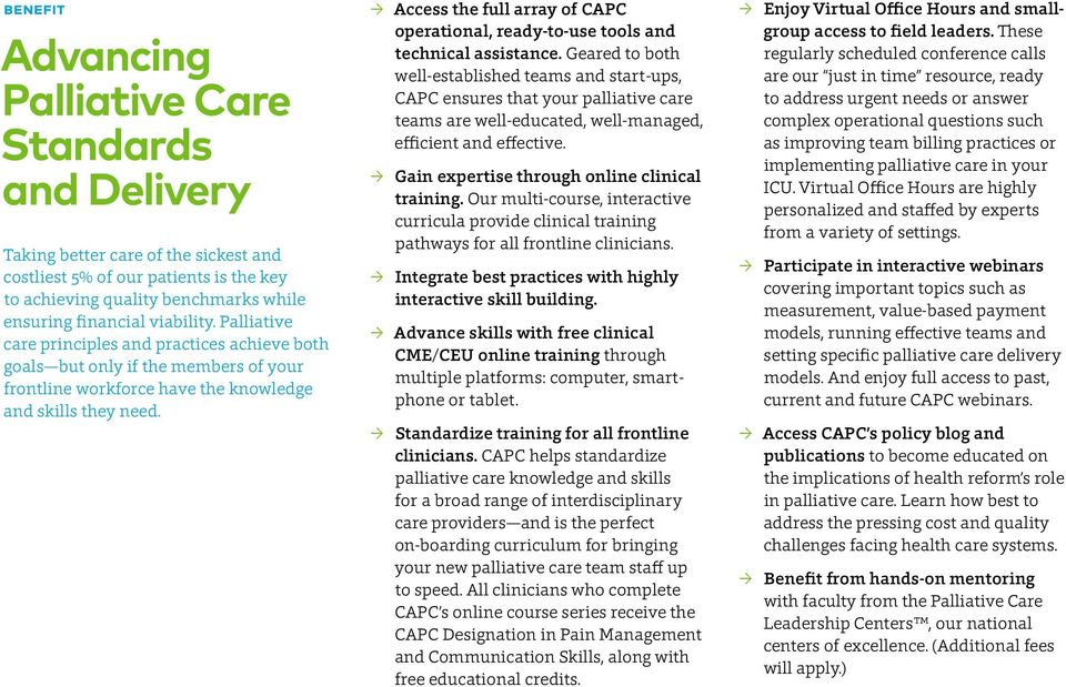 Access the full array of CAPC operational, ready-to-use tools and technical assistance.