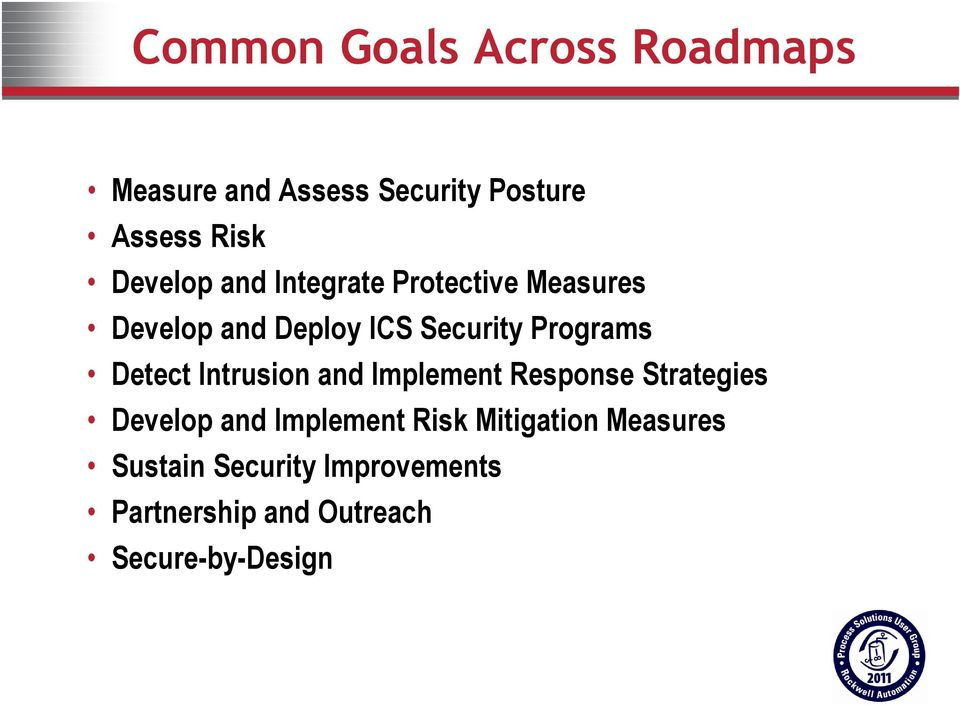 Detect Intrusion and Implement Response Strategies Develop and Implement Risk