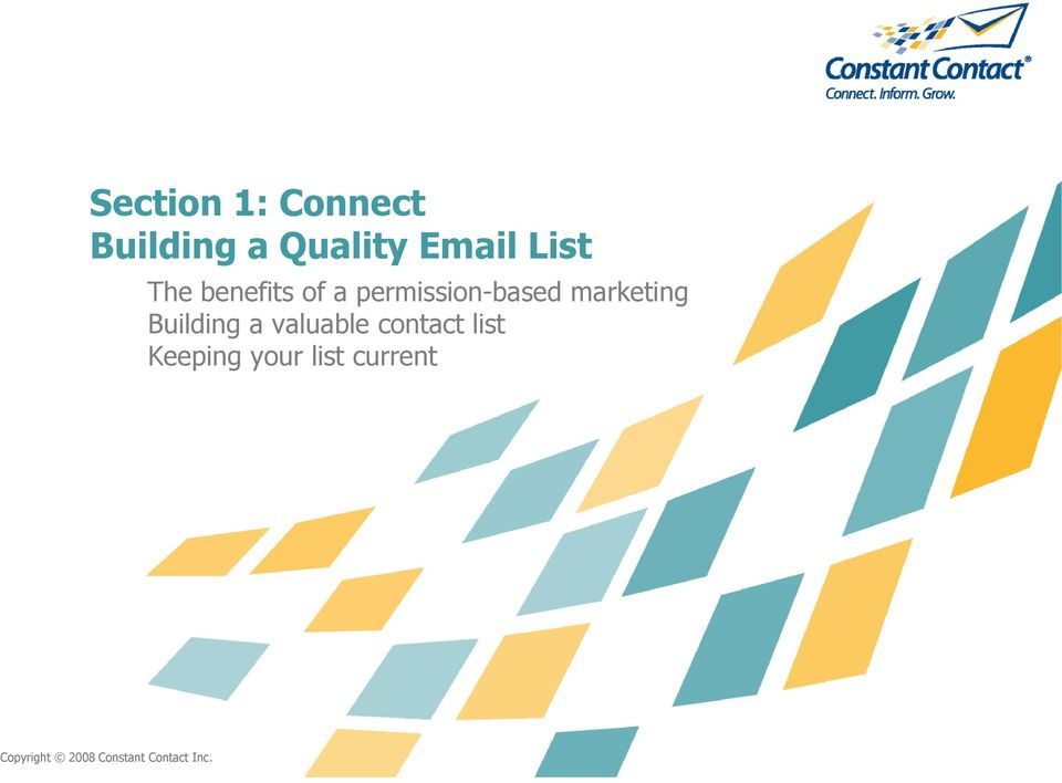 marketing Building a valuable contact list