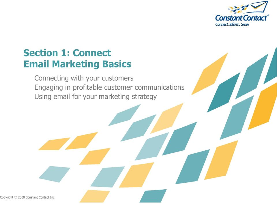 profitable customer communications Using email