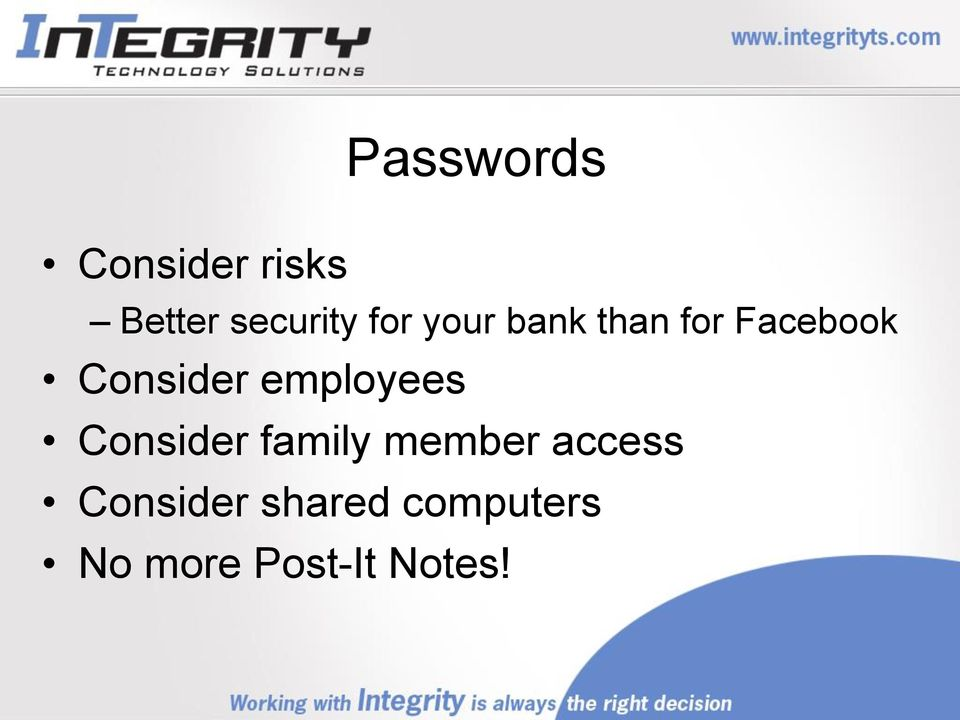 employees Consider family member access