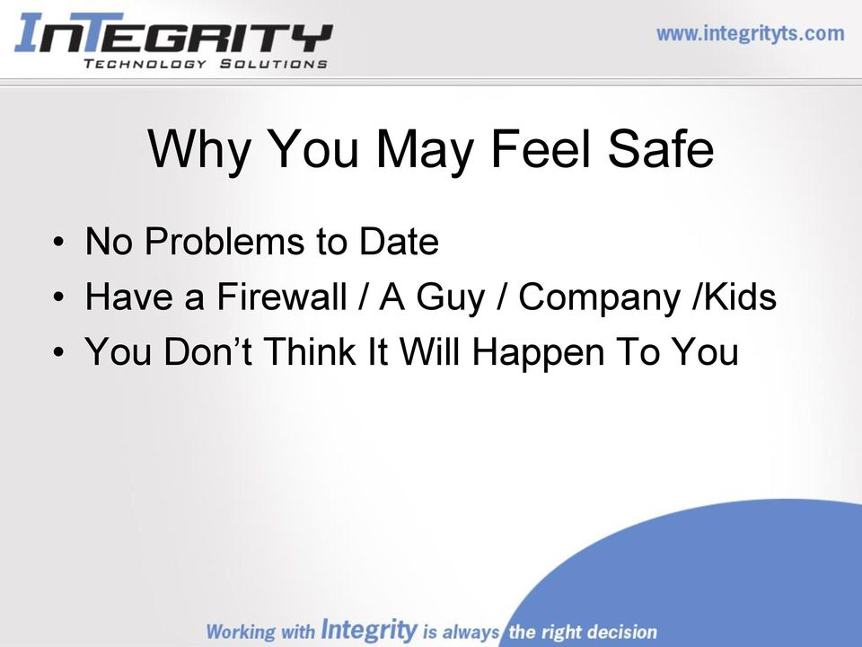 Firewall / A Guy / Company