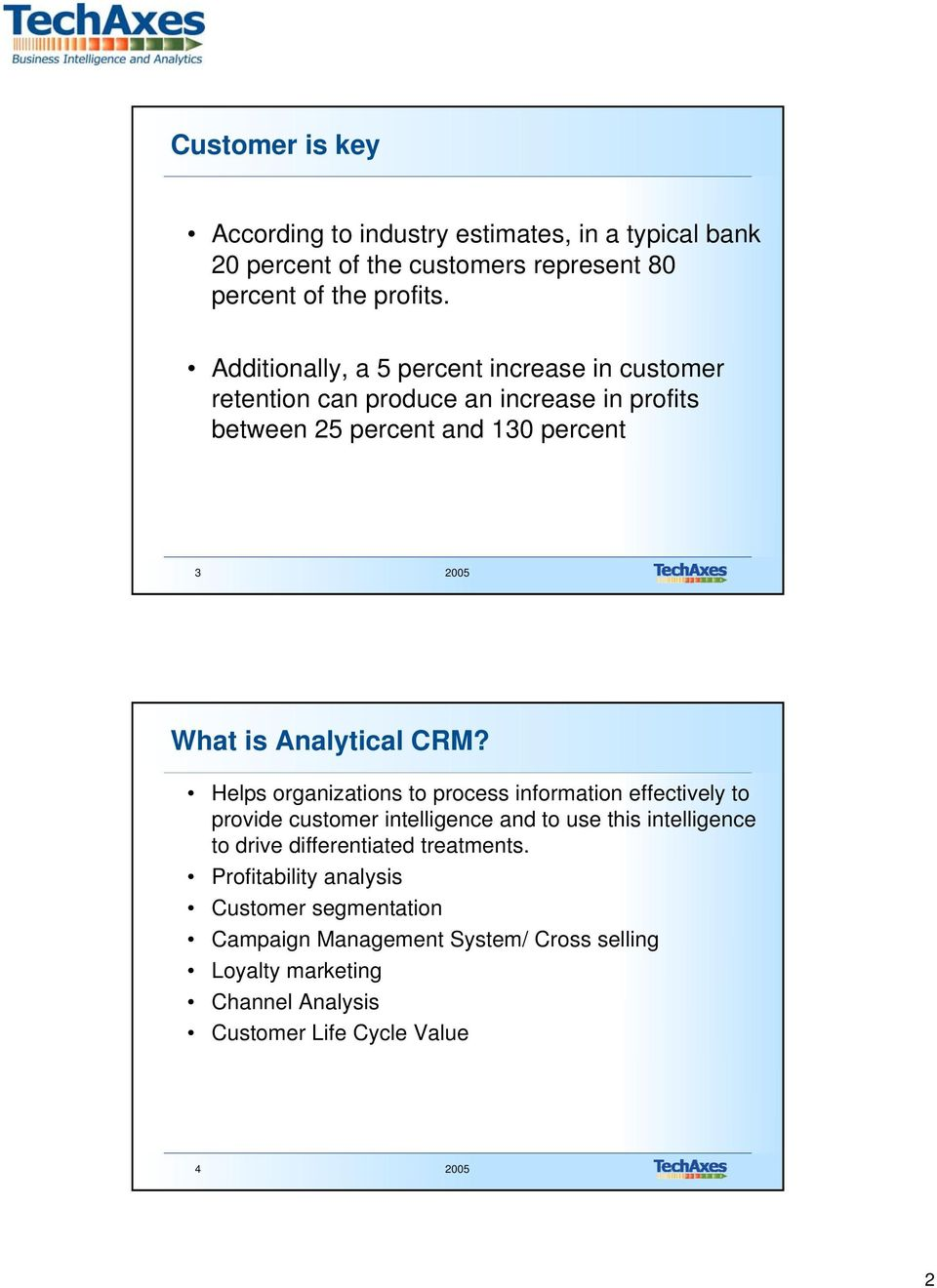 is Analytical CRM?