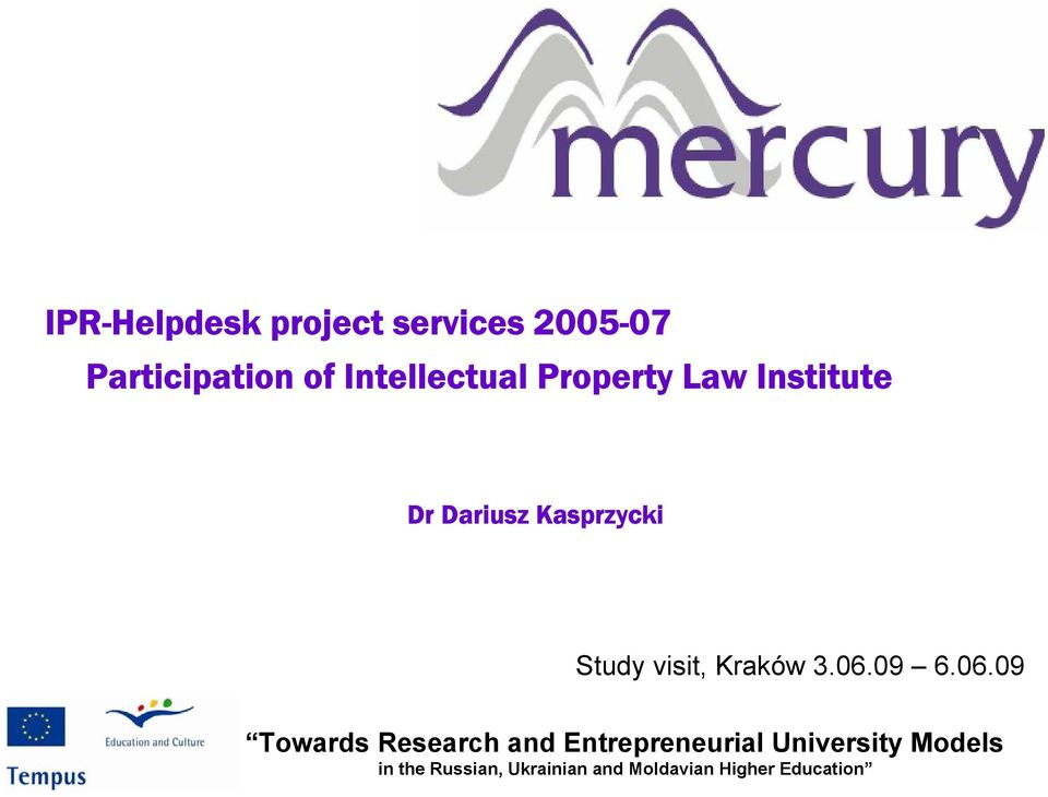 Intellectual Property Law Institute