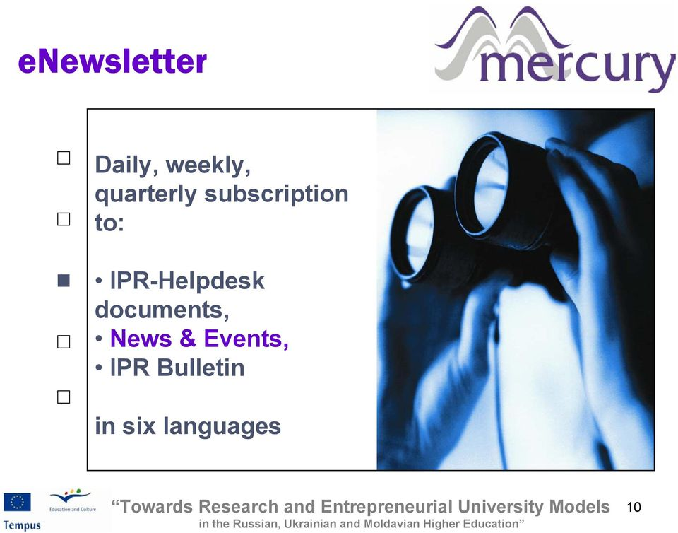 IPR-Helpdesk documents, News &