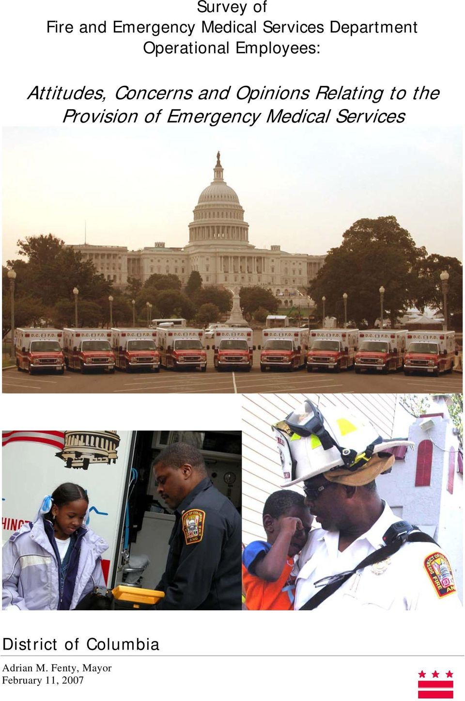 Relating to the Provision of Emergency Medical Services