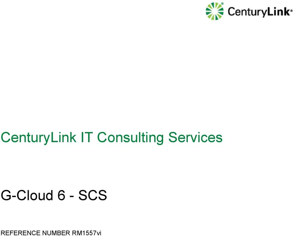 Services G-Cloud 6