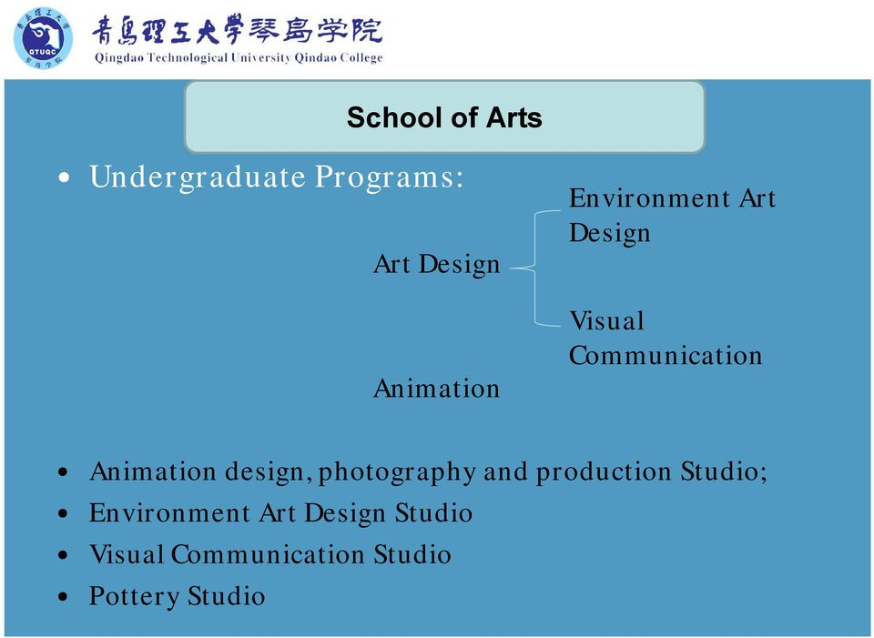 Animation design, photography and production Studio;